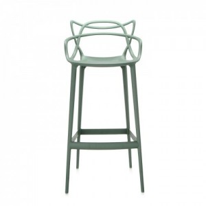 Mint green stool