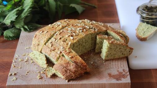 Nettle Soda Bread