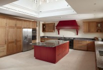 heritage oak kitchen