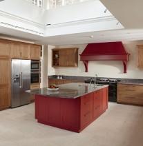 heritage oak kitchen